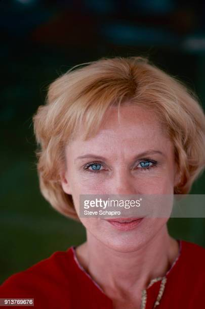 Portrait of Swedish actress Bibi Andersson Los Angeles California 1976