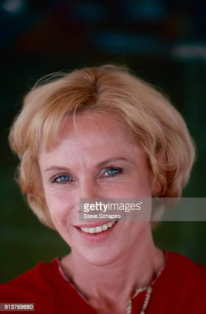 Portrait of Swedish actress Bibi Andersson Los Angeles California 1976