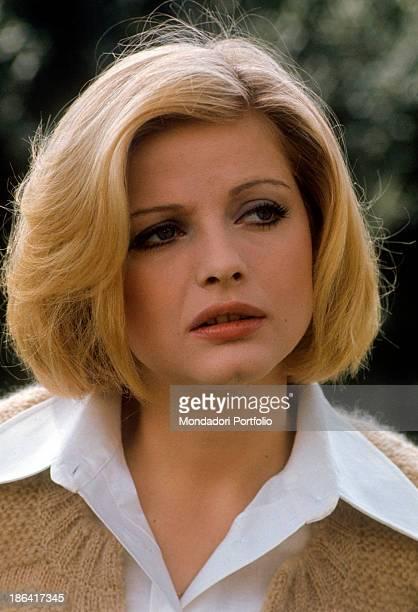 Portrait of Swedish actress Ewa Aulin 1970s