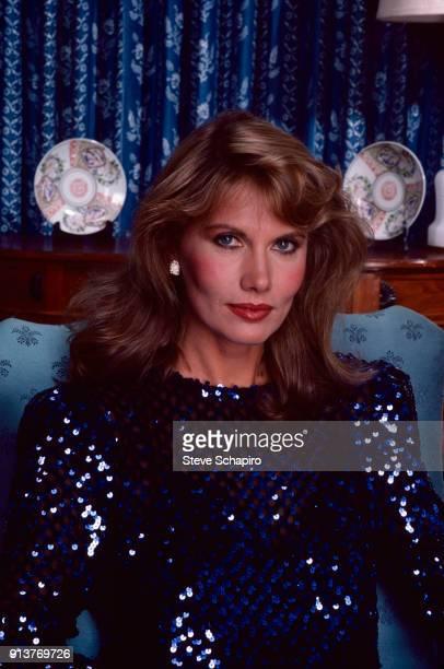 Portrait of Swedish actress Maud Adams Los Angeles California 1978