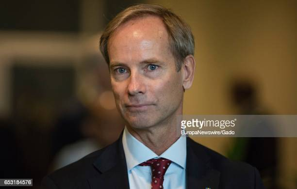 Portrait of Swedish diplomat Olof Skoog June 28 2016