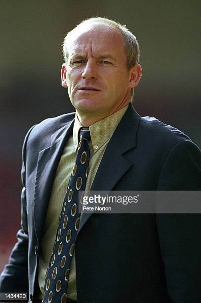Portrait of Swindon Town manager Steve Coppell during the Nationwide League Division Two match between Swindon Town and Northampton Town at the...