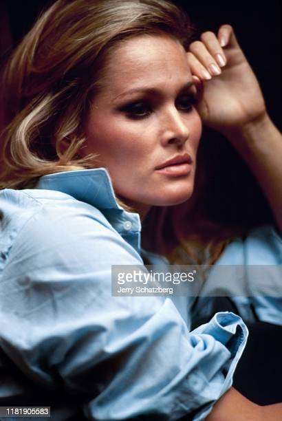 Portrait of Swiss actress and former model Ursula Andress New York New York September 8 1965