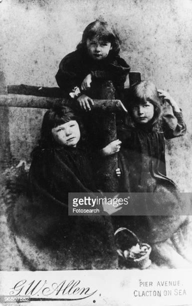Portrait of Sylvia Pankhurst Adela Pankhurst and Christabel Pankhurst circa 1900s
