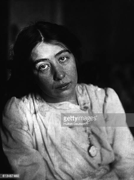 Portrait of Sylvia Pankhurst