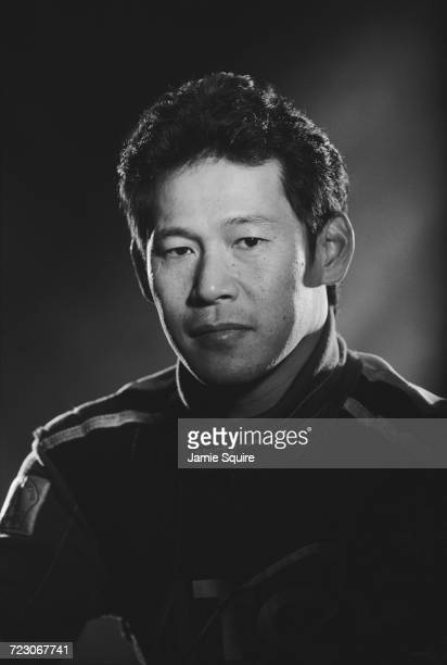 A portrait of Takuya Kurosawa of Japan driver of the Dale Coyne Racing Lola B2K/00 FordCosworth XF during testing for the Championship Auto Racing...