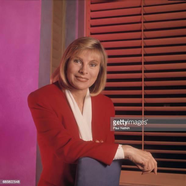 Portrait of talk show host Jenny Jones at NBC Studios in Chicago Illinois September 11 1991