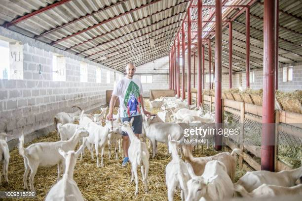 Portrait of Taras owner of the Dooobra ferma farm Dooobra ferma is a dairy farm in Kiev region specialized on handcrafted cheeses Bohuslav Kiev...