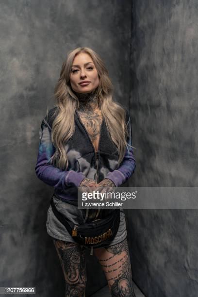 Portrait of tattoo artist Ryan Ashley Malarkey, New York, New York, June 25, 2019.
