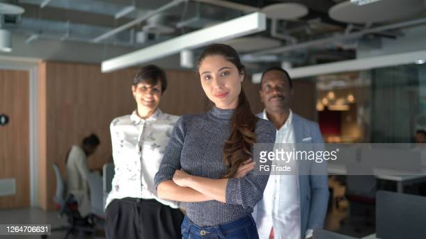 portrait of team at work - founder stock pictures, royalty-free photos & images