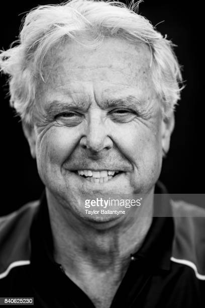 Portrait of Team Penske advisor and former driver Rick Mears is photographed for Sports Illustrated on August 19 2017 at Pocono Raceway Verizon...