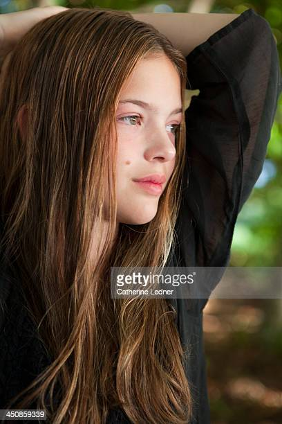 Portrait of Teen girl on vacation