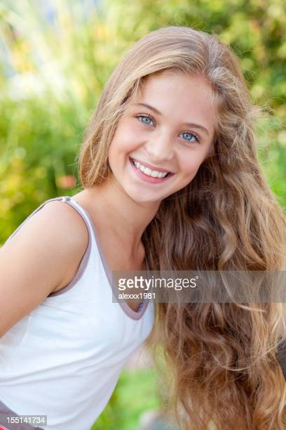 Pretty 15 Year Old Girls Stock Photos and Pictures