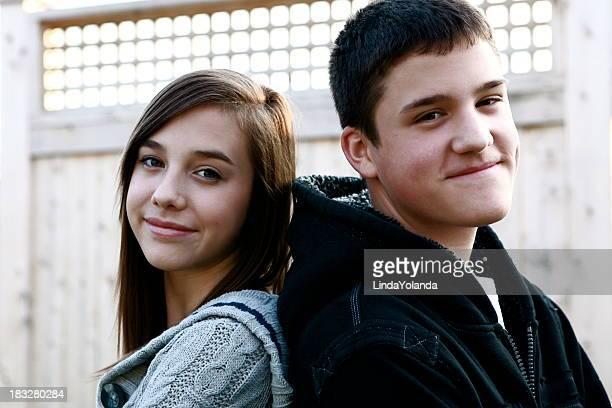 Portrait of Teens