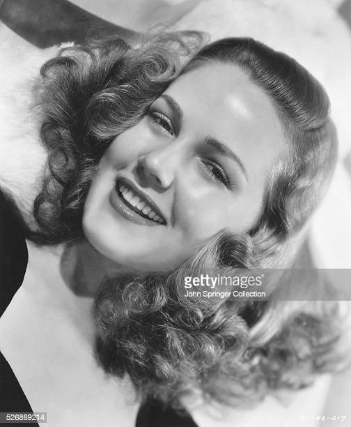 Portrait of television and movie actress Barbara Britton in 1943