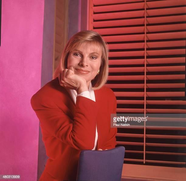 Portrait of television host Jenny Jones Chicago Illinois September 6 1991