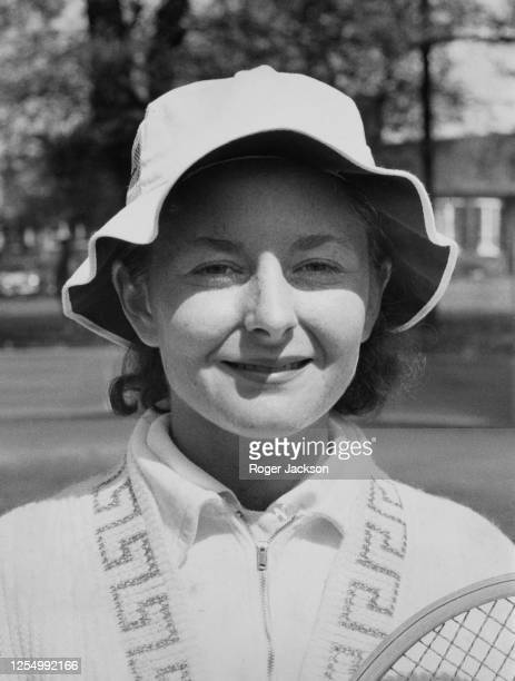 Portrait of tennis player Nancy Richey of the United States before the Wimbledon Lawn Tennis Championships on 5th May 1964 in London England