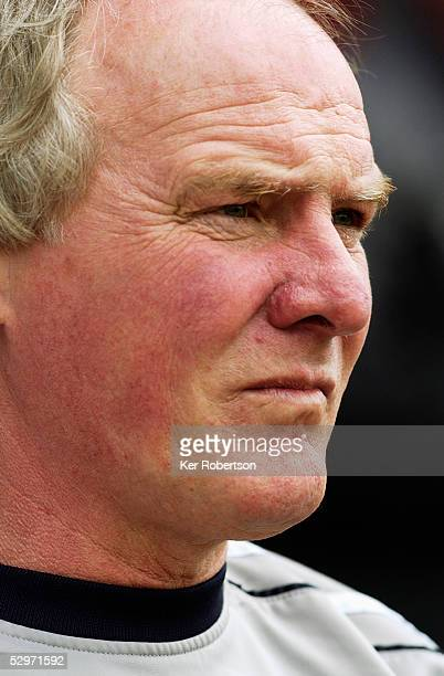 A portrait of Terry Yorath assistant manager of Huddersfield Town during the CocaCola League One match between Brentford and Huddersfield Town at...