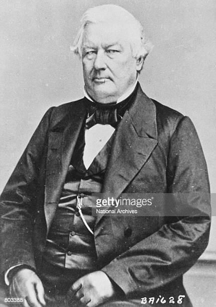 Portrait of the 13th US President Millard Fillmore