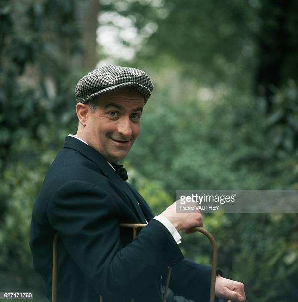A portrait of the actor de Funes [France] ca 19501980