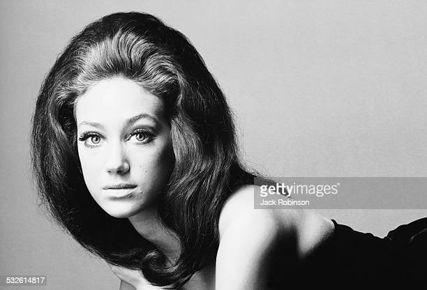 Portrait of the actress and model Marisa Berenson, late 1960s or early 1970s.