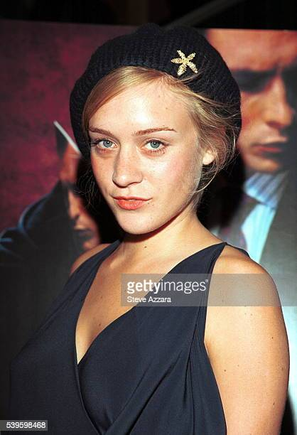 Portrait of the actress Chloe Sevigny