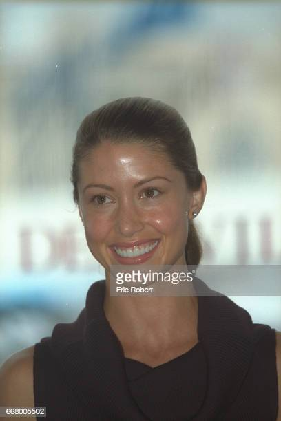 Portrait of the actress Shannon Elizabeth who plays the role of 'Nadia' in the film 'American Pie 2' by James BRogers