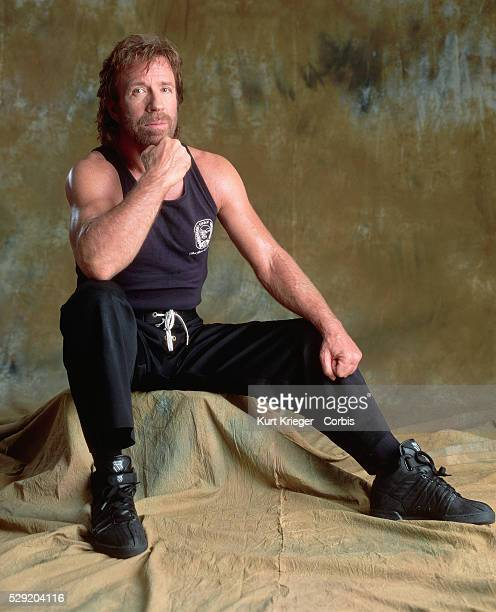 A portrait of the American actor Chuck Norris taken in Munich Germany A former karate champion Norris has starred in Missing in Action IIII Delta...
