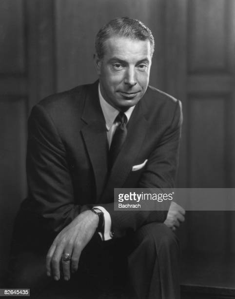 A portrait of the American baseball player Joe DiMaggio New York 1954 During his career with the New York Yankees from 1936 to 1951 he established...