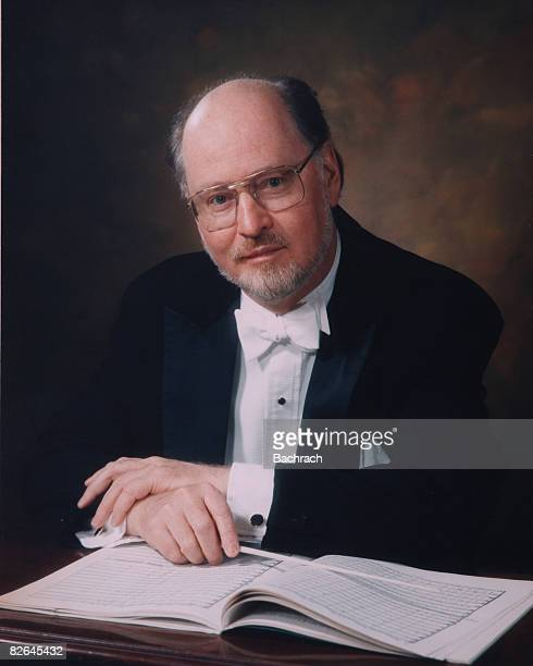 A portrait of the American composer John Williams Boston Massachussetts 1987 From 1980 through 1993 Williams was the conductor of the Boston Pops...
