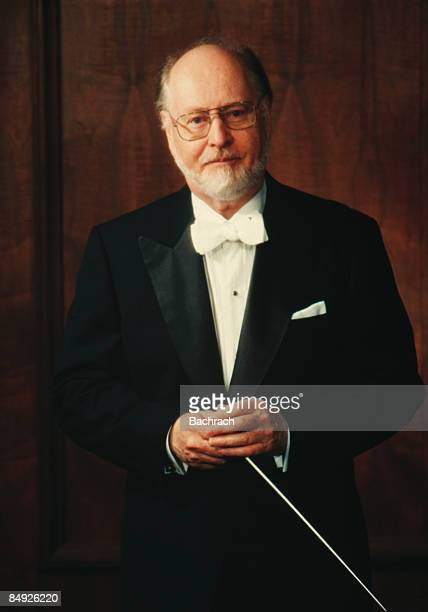 Portrait of the American film composer John Williams Boston Massachussetts 1997 From 1980 through 1993 Williams was the conductor of the Boston Pops...