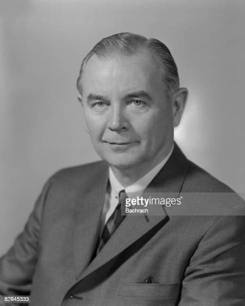 A portrait of the American jurist William J Brennan Jr a member of the Supreme Court of the United States mid20th century
