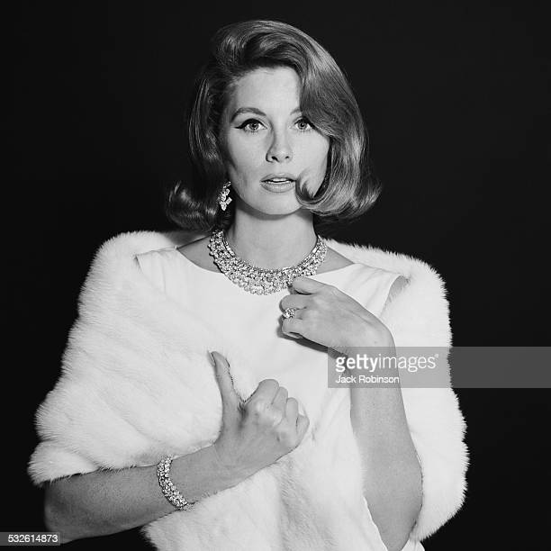 Portrait of the American model and actress Suzy Parker early 1960s