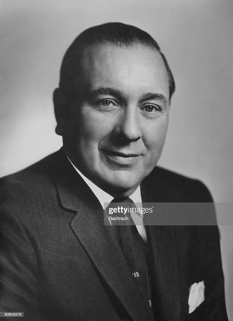 Portrait Of Mayor Richard J. Daley : News Photo