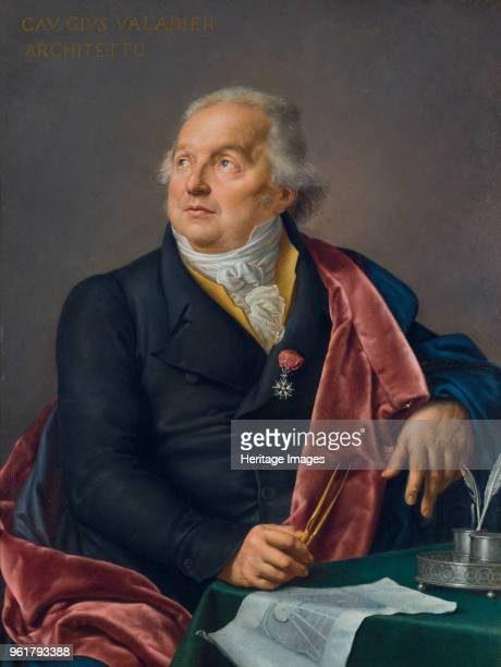 Portrait of the Architect Giuseppe Valadier 1827 Found in the Collection of Accademia di San Luca