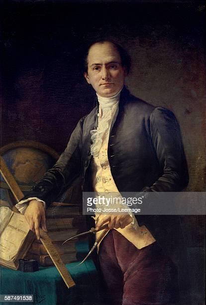 Portrait of the astronomer Jean Baptiste Joseph Delambre Painting by Henri Coroenne Observatory Museum Paris