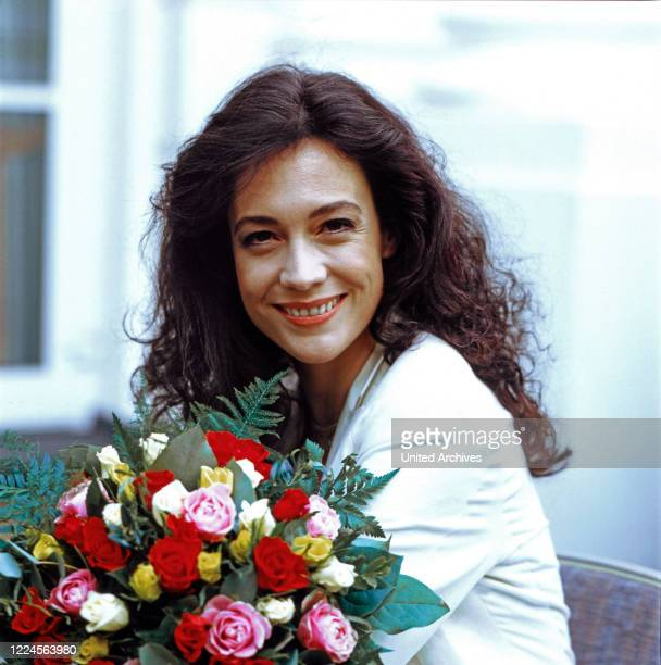 Portrait of the Austrian actress Barbara Wussow, Germany, 1994.