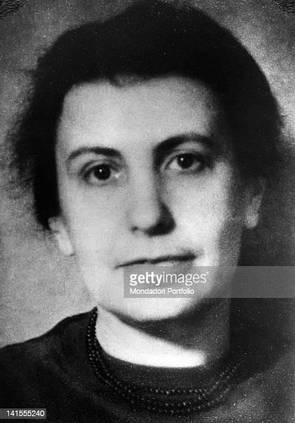 Portrait of the Austrian analyst Anna Freud, daughter of Sigmund Freud. 1930s
