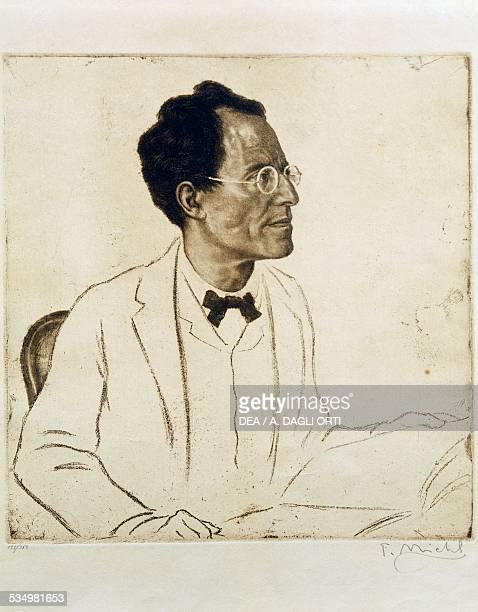 Portrait of the Austrian composer and conductor Gustav Mahler Vienna Historisches Museum Der Stadt Wien