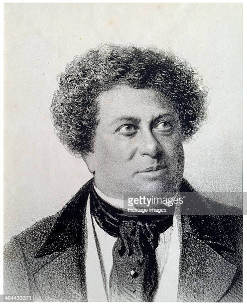 'Portrait of the Author Alexandre Dumas' 19th century Dumas was the author of popular historical adventure classics including The Man in the Iron...