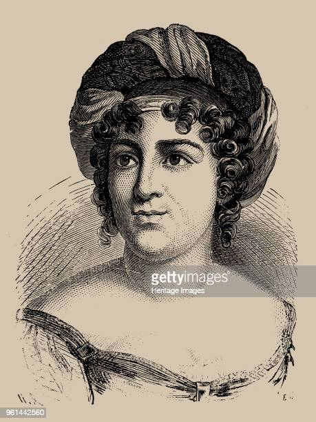 Portrait of the author Baronne Anne Louise Germaine de Staël 1889 Private Collection