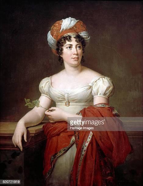 Portrait of the author Baronne Anne Louise Germaine de Staël Found in the collection of Musée de l'Histoire de France Château de Versailles