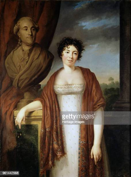 Portrait of the author Baronne Anne Louise Germaine de Staël Found in the Collection of Château de Coppet