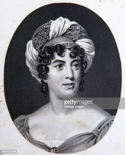 Portrait of the author Baronne Anne Louise Germaine de Staël Private Collection