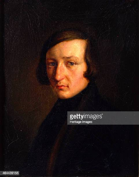'Portrait of the Author Heinrich Heine' 1840s One of the most significant German poets Heine is best known for his lyric poetry much of which was set...
