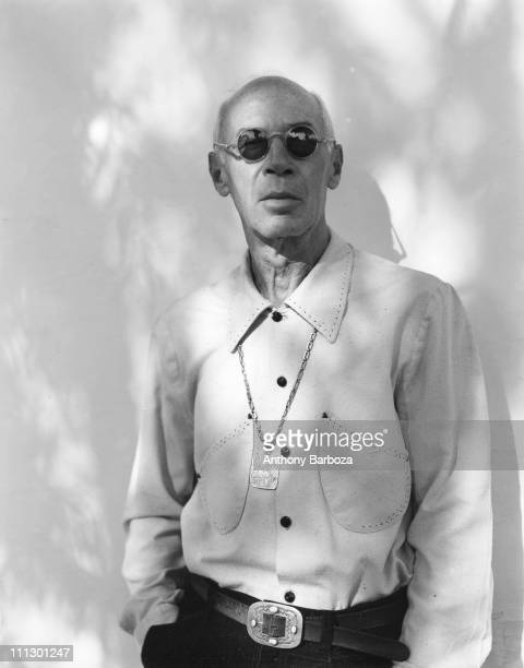 Portrait of the author Henry Miller California mid twentieth century