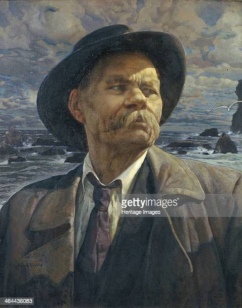 Portrait of the author Maxim Gorky 1936 Found in the collection of the State Tretyakov Gallery Moscow