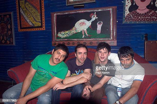 Portrait of the band the Shins the House of Blues Chicago Illinois June 18 2004