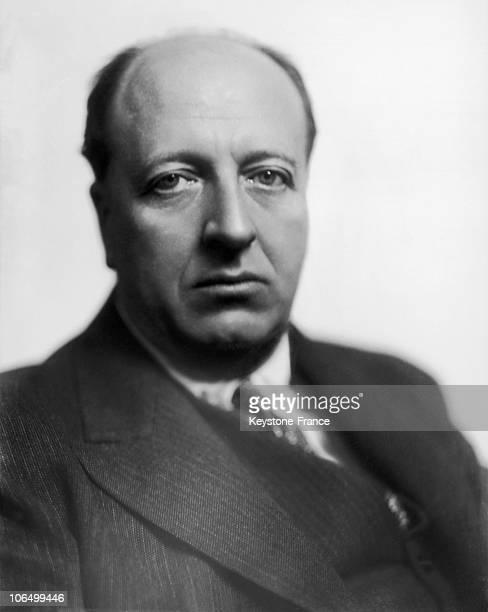 Portrait Of The Banker Maurice De Rothschild Around 1920