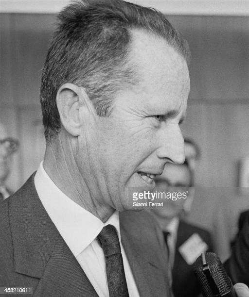 A portrait of the Belgian King Baudouin 29th September 1978 Madrid Spain